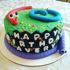 Slither.io cake
