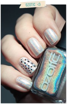 Ozotic Holographic 509 //WaOw - love the stars!