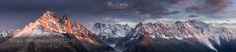 Mont Blanc sunset by allan_38 #landscape #travel