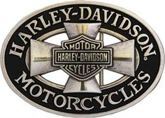 Harley-Davidson® Men's Cross Road Belt Buckle HDMBU10358