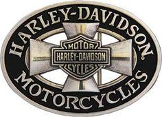 Harley-Davidson® Men's Cross Road Belt Buckle HDMBU10358