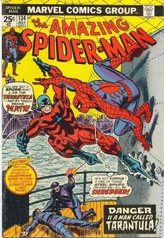 Amazing Spider-Man 134 Marvel comics