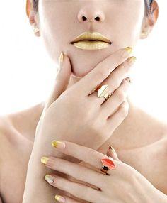 Golden Lips & Tips