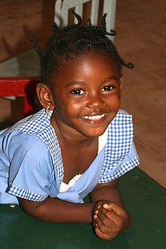 Schoolgirl in The Gambia