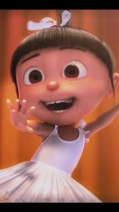 Agnes from Despicable Me!