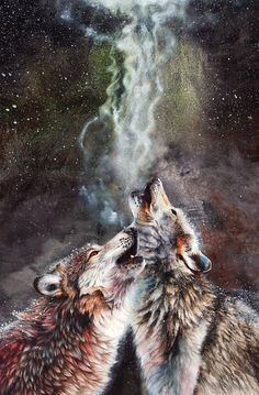Wolf Prints on Fine Art America Large Canvas Prints, Art Prints, Totems, Wolf Hybrid, Wolf Painting, Watercolour Painting, Timber Wolf, Wolf Pictures, Beautiful Wolves