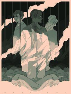 NBC Hannibal by Mel Tow, via Behance