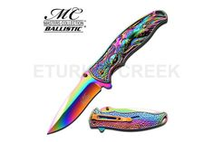 MC MASTERS COLLECTION MC-A019RB SPRING ASSISTED KNIFE