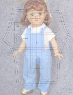 Альбом №3 для больших кукол 18 ..