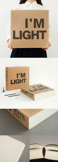 The biggest notebook we ever did see! There's more to love with the special edition Big I'm Light Notebook! ^.~*