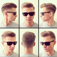 Mens Hairstyle. I'm gonna be trying this cut on a certain someone soon and he doesn't even know about it. ;)