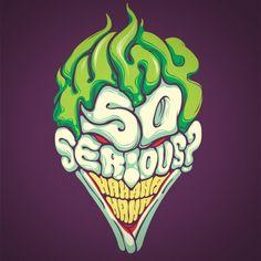 Why so serious The Joker Batman custom tee design by Dracoimagem 585x5856 Why so serious? designed by Dracoimagem