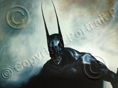 This is hand-painted art oil painting of The Joker, DC Comics. Description from ebay.com. I searched for this on bing.com/images