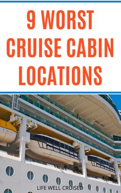 All cruise cabins aren't created equally. If you're a light sleeper, or worried about getting seasick, cruise cabin location is everything! Here are the 9 worst cruise cabins on a cruise ship. Be careful which stateroom you choose, when cruise planning! #cruises #cruisecabin #cruisetips #cruising #cruise #cruisetravel Cruise Packing Tips, Cruise Travel, Cruise Vacation, Shopping Travel, Vacation Spots, Cruise Ship Reviews, Best Cruise Ships, Carnival Cruise Ships