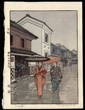 Purchase Consign Japanese Wood Block Prints Kawase Hasui, Yoshida, Yoshida, Netsuke
