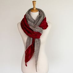 Lilli Pilli shawl...could use Miss Babs Fingering Wt