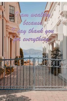 """""""Thank you"""" means I value what I have."""