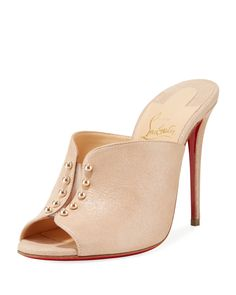 a430c3192c48 Christian Louboutin Chocazeppa Metallic Suede Wedge Red Sole Espadrille  Sandals.  christianlouboutin  nudeshoes  wedges