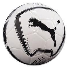 PUMA Power Team Soccer Ball Black/White