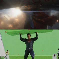Batman v Superman Effects  Before and After