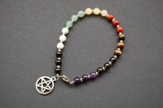 Pagan Wheel of the Year Bracelet, 8 Sabbats. Want.