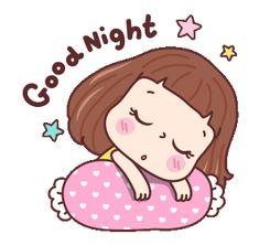 Good Night, Night Night, Sanrio Characters, Line Sticker, Doraemon, Hello Kitty, Animation, Stickers, Funny