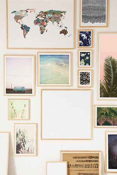 Natural Wood Art Print Frame