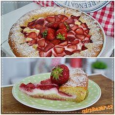 Ovoce umyjeme,připravíme si nápln,tvaroh smícháme se zakysanou smetanou a vanilkovými cukry. Těsto- ...