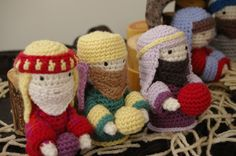 Amigurumi Nativity Set - CROCHET