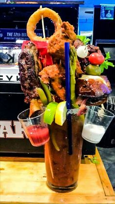 """""""Beast Mode,"""" from the Garage Bar and Grill, Bremerton, WA"""