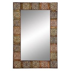 World Menagerie Angelica Rectangle Oversized Wall Mirror