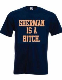 Denver Broncos Super Bowl Richard Sherman Peyton Manning Shirt VIRAL Funny | eBay