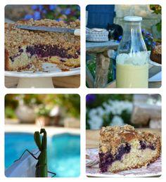 """""""Annabel au naturel"""" son gâteau aux myrtilles et son incroyable Crumble - Bikini et Gourmandise"""