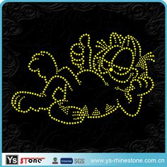 Rhinestone Flower Pattern Hot Fix Motif  1.Low MOQ  2.Marerial:Crystal  3.Competitiver price & hign quality