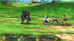 Fate/go バトル画面