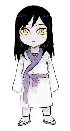 Chibi Orochimaru thought he was a girl