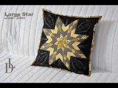 Patchwork Lone Star - Large Star - YouTube