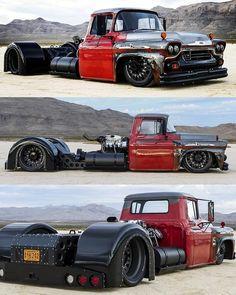 dope or nope  Rat Rod Trucks, Bagged Trucks, Lowered Trucks, Dually Trucks, Big Rig Trucks, Cool Trucks, Chevy Trucks, Pickup Trucks, Rat Rod Pickup