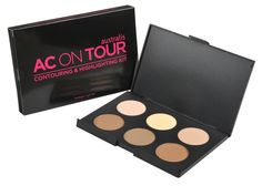 AUSTRALIS AC ON TOUR CONTOUR KIT  www.livewildbefree.com Australian Cruelty-Free Lifestyle & Beauty Blog