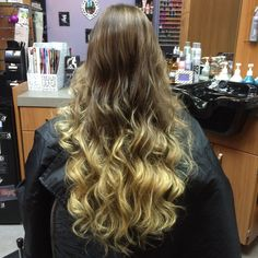 I will ombre the world one head at a time  #ayladavis #ayla #willowglen #95125 #sanjose #408 #bayarea #salon #hairsalon #solasalon #solasalons #solasalonstudios #solasalonwillowglen #solasalonswillowglen #hair #hairstyle #hairstylist #hairdresser #beautician #cosmetologist #style #stylist #haircolor #highlights #blonde #ombre #curls #wavyhair #longhair #longhairdontcare