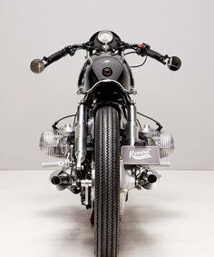 the BMW R90/6 café racer custom motorcycle by renard speedshop