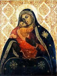 """Madonna di Conadomini a Caltagirone - la """"Madonna del pane"""" e la """"Rusedda""""."""