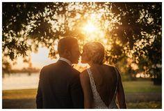 Twig + Fawn Photography  Backlit wedding portrait, Noosa wedding, Noosa jetty.