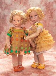 Wonderful Italian Cloth Toddler Character by Lenci with Original Costume and Label. http://Theriaults.com