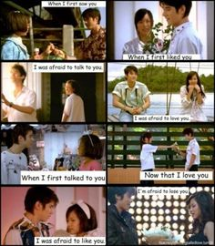 Crazy little thing called love.oh god. This movie made me cry a river. Mario is so cute and handsome . Love Trailer, Sweet Love Words, What Is Love, My Love, Mario Maurer, Afraid To Lose You, Romantic Words, Beautiful Love Quotes, Qoutes About Love