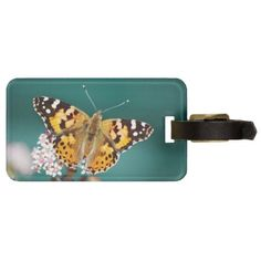 Travel in style with Butterfly luggage tags from Zazzle! Find a design that suits your suitcase or create your own. Make your tags today!
