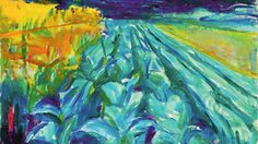 Edvard Munch Cabbage Field Oil Painting Reproductions for sale Edvard Munch, Oslo, Emil Nolde, Amedeo Modigliani, Van Gogh, Statues, Classical Realism, Oil Painting Reproductions, Oeuvre D'art