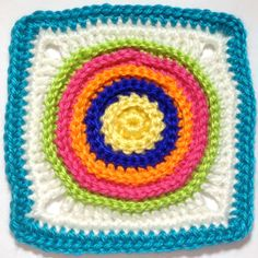 Hooked on Granny Squares - Pattern & Chart <3