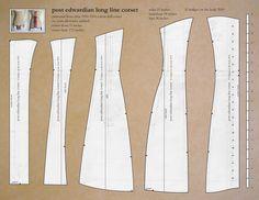 1911 corset pattern