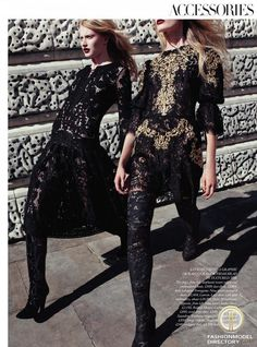 Dolce & Gabbana Fall Winter 2012 Editorial